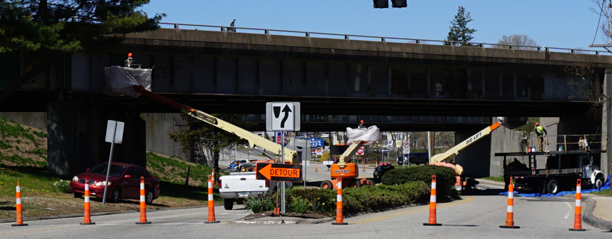 Painting Of The Route 9 Overpass Bridge Is Just One Of The Many Collaborative Efforts Supported By The Essex Foundation And Its Gateway Beautification Initiative.
